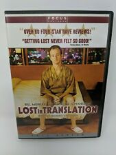 Lost in Translation Dvd Bill Murray Scarlett Johansson Sophia Coppola Anna Faris