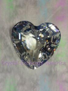 Swarovski Crystal Clear Heart SCS Renewal Gift 1996.  199130. MIB