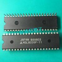 1X MITSUBISHI M5L8039P11 MICROCONTROLLER 8-BIT 8048 CPU MOS DIP40