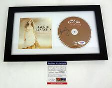 JACKIE EVANCHO SIGNED AUTOGRAPH THE AWAKENING FRAMED CD PSA/DNA COA