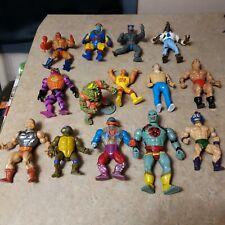 Vintage Action Figure Lot Tmnt Motu Remco Thundercats hulk hogan a team and more