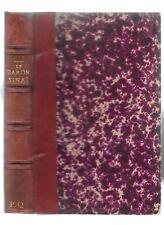 LE BARON DE SINAÏ de GYP roman drame amour dédié à  Alphonse Daudet en juin 1897
