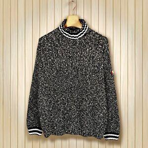 Scotch & Soda Pullover Shirt Sweat Herren Gr. M 50 52 Gau weiß Strick Pulli K15