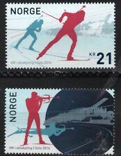 2016 NORWAY Skiskyting, biathlon  NK 1928-29  MNH