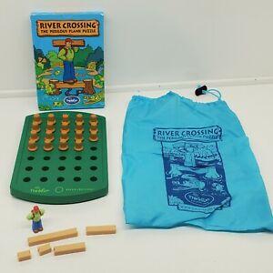 Thinkfun River Crossing Puzzle Logic Brain Teaser Home School Toy Stratagy (ed)