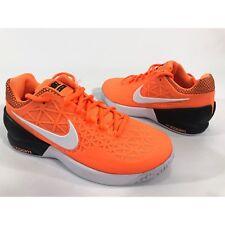 Nike Court Zoom Cage 2 Sz 6 Orange White Women's Athletic Run Shoes 705260-802