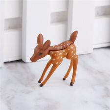 Sika Deer Miniature Figurine Dollhouse Garden Decor Crafts Micro LandscapeesZ