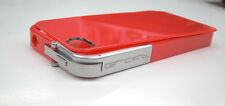 GRAFT CONCEPTS Leverage iPhone 4/4S Case Bumper RED w/ MATTE Latch BRAND NEW