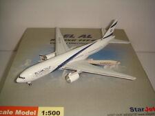 """StarJets 500 El Al Israel Airlines B777-200ER """"2000s colors - Galilee"""" 1:500"""