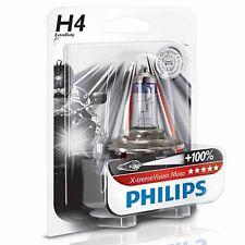Lámpara H4 12v 60/55w X-treme Vision Moto + 100% de Philips