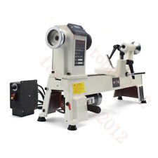 """12""""X18"""" 750W Heary Duty Wood working Lathe Turning Variable Speed 650-3800RPM"""