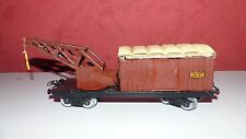 Wagon grue de train Hornby écartement O