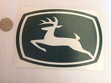 """Stk#4 John Deere Sticker, Bumper, Window Decal, 6""""x4"""", Peel & Stick, New. HiQual"""