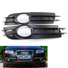 ABS For Audi A6 C6 05-08 Front Fog Light Lamp Grille 3.2L