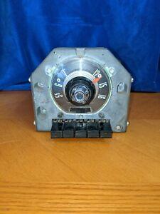 1955 Ford Radio AM Push Button OEM FoMoCo Fairlane