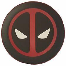 "SpareCover® Brawny Series - DeadPool on 28"" Black Denim Tire Cover Rav4"