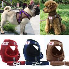 Non Pull Dog Harness Adjustable Soft Padded Vest Small Medium Mesh Jacket XS-XL