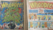 Whoopee comics x 75 1977 and 1978 mainly plus one Holiday Summer Special