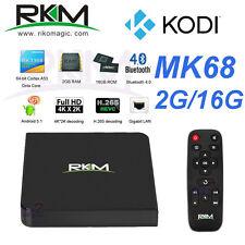 Rikomagic MK68 4K Octa Core RK3368 64bit Android 5.1 TV Box 2G 16G KODI XBMC BT