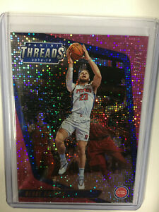 2018-19 Blake Griffin panini threads Pink Dazzle parallel 39/75 base card #70
