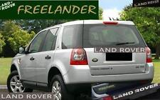 EXTERIOR CHROME TAILGATE LETTER INSERT LOGO 2008 2009 2010 LAND ROVER LR2 LR 2