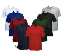 Uneek Olympic Polo Shirt Work Wear Top Plain Style Uniform Short Sleeves (UC124)