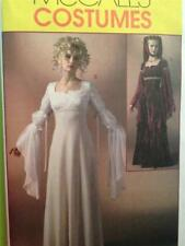 McCalls Sewing Pattern 4889 Misses Renaissance Dress Costume Size 14-20 OOP