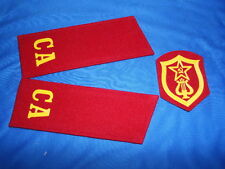 Soviet russian shoulder boards Soldier Musical Troops USSR uniform chevron patch
