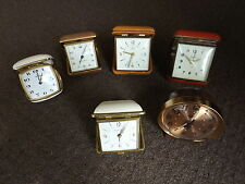Antique, Post - 1900 Metal Collectable Clocks with Alarm