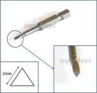 2mm Triangle Drill Bit Key Allen Repair Triangular Head Screw Screwdriver Hex