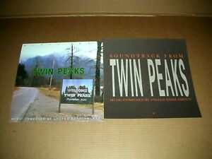PEAKS TWIN D Lynch Soundtrack 2 Sided Promo 12x12 Poster Promo Flat 1994 M-