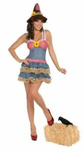 Sexy Scarecrow Costume Dress Adult X-Small/Small