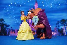 Cake Topper Decoration Disney Princess Belle Beauty and the Beast Figure Set