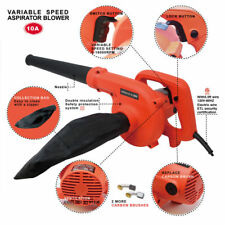 Toolman 6 speed1200W 10A Corded Electric Leaf Blower Sweeper Vacuum Cleaner