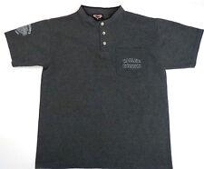 HARLEY DAVIDSON  Polo Shirt Mens M USA Made Dealer Buckminn's Xenia Ohio 2000 HD