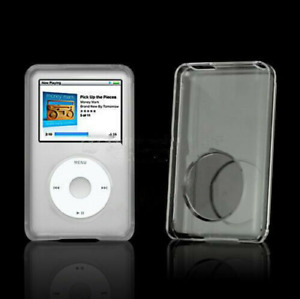 Clear Crystal Hard Cover Case for Apple iPod Classic 7th 80 120 160GB Video 30GB