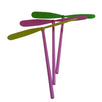 50/10pc Plastic Bamboo Dragonfly Propeller Outdoor Toy Children Kids Gift Flying