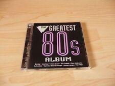 Doppel CD The Greatest 80s Album: Blondie Duran Duran Midge Ure Go West Madness