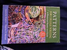 patterns for college writing a rhetorical reader and guide 13th edition textbook