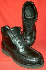 Rockport Men's Chukka Ankle Boots 9.5M Black Leather Gortex Waterproof MW388