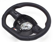 Échange S-Line Aplati Volant Cuir Multifun avec Commutation Noir Audi Q5