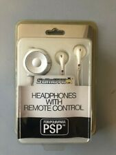 BRAND NEW, Earbuds Earphones Headphones Headsets with Remote Control for the PSP