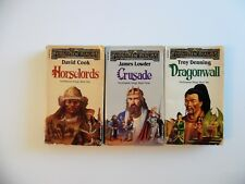 THE EMPIRE TRILOGY~Forgotten Realms~Horselords~Dragonwall~Crusade~Fantasy PB