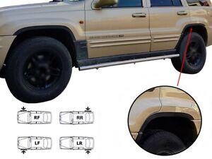 Jeep Grand Cherokee wheel arch trims Black matt wings sport styling kit '99-04
