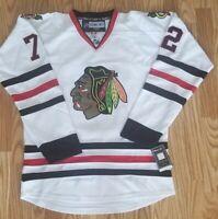 Artemi Panarin Chicago Blackhawks Reebok NHL Black Jersey Size 48  Stitched NEW