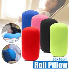 30CM Microbead Roll Cushion Neck Waist Back Support Sleep Pillow Travel