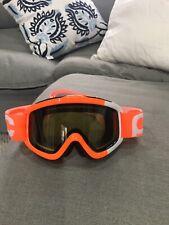 POC Racing Ski Goggles Orange With Smokey Yellow Lens