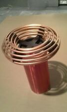 """2.5"""" x 9"""" Copper Tubing Toroid for Tesla Coils and High Voltage Project Aluminum"""