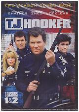 TJ HOOKER SEASON 1 & 2  (DVD, 2014, 5-Disc Set) NEW