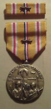 WW II Asiatic Pacific Campaign Medal with Ribbon 2 BATTLE STARs